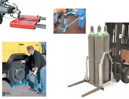 Hilfsgeräte Flaschenwagen