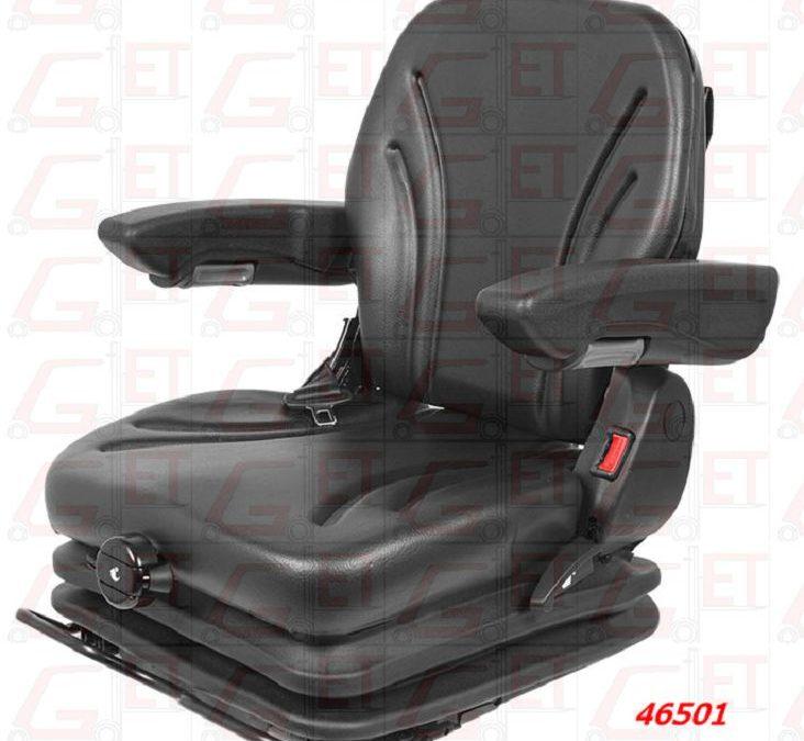 46501 Fahrersitz UnitedSeats MGV35 PVC mit Gurt & Sitzschalter / Jetzt NEU im Programm